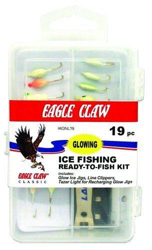 Eagle Claw Glow Kit Ice Fishing Lure