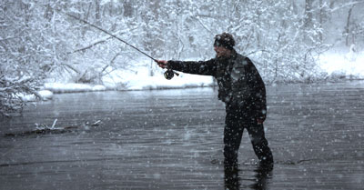 Can I Fish In The Winter | Today I'm Outside