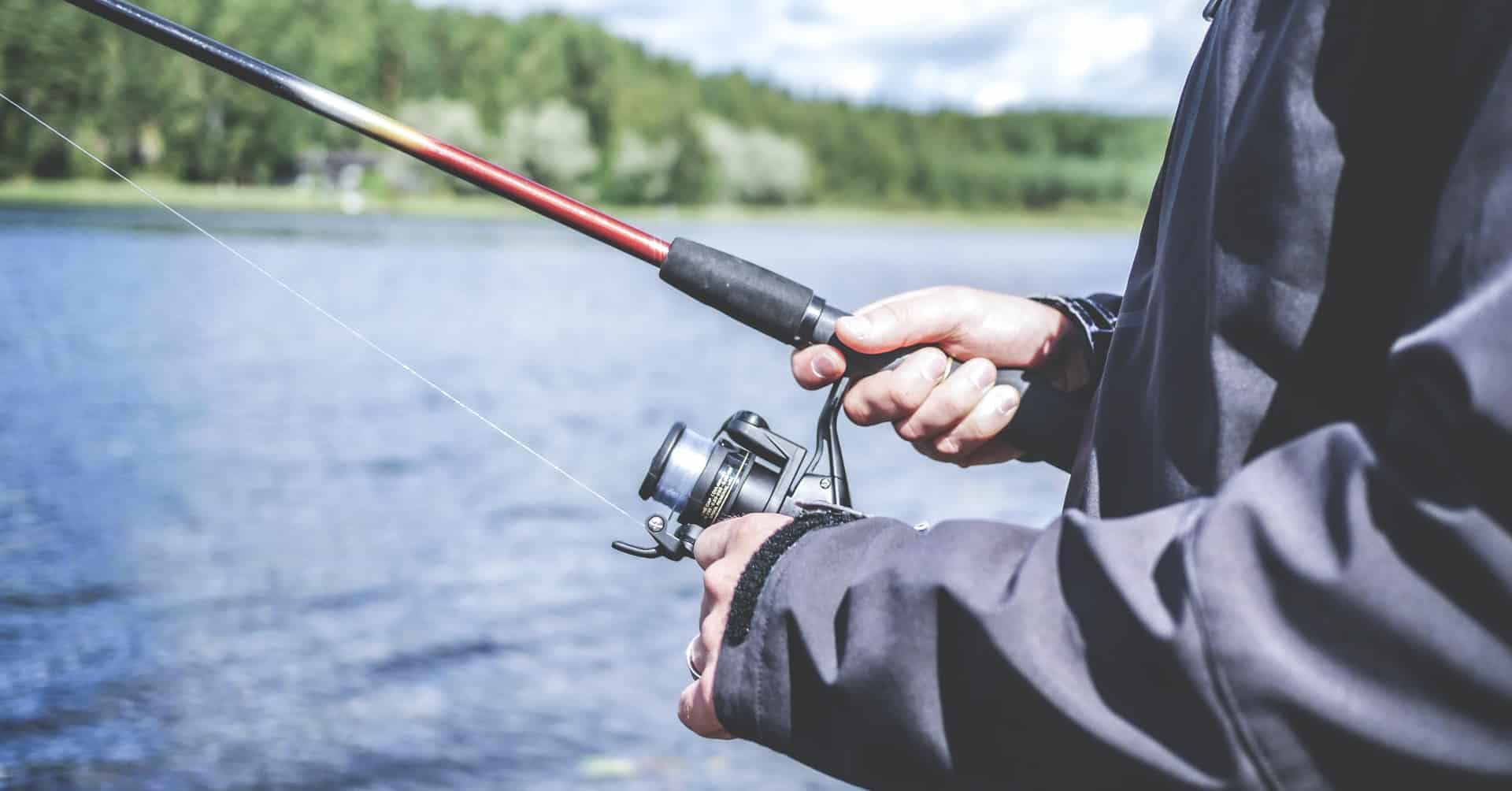 How to Setup a Fishing Pole | Today I'm Outside