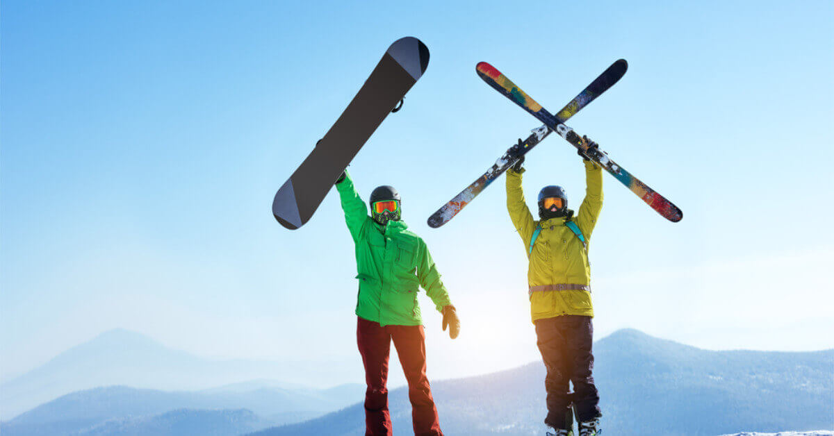 Skiing vs Snowboarding: Which Should You Choose? | Today I'm Outside
