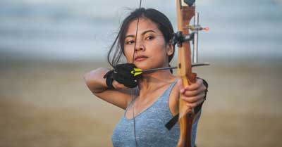 Why The Bow String Hits Your Arm (And How To Stop) | Today I'm Outside