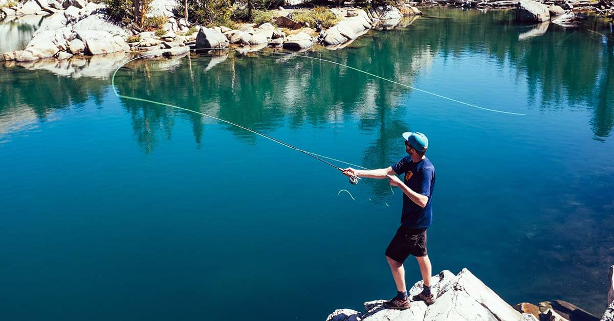 How To Cast A Fly Rod | Today I'm Outside