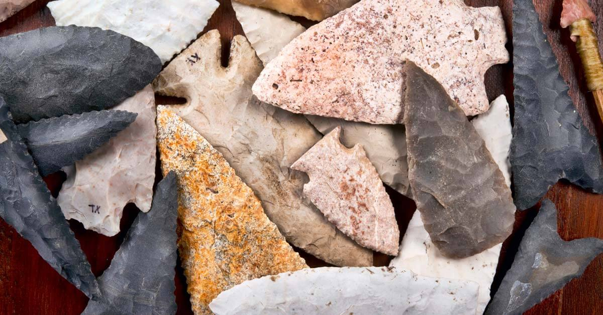 What are Arrowheads Made of? | Today I'm Outside