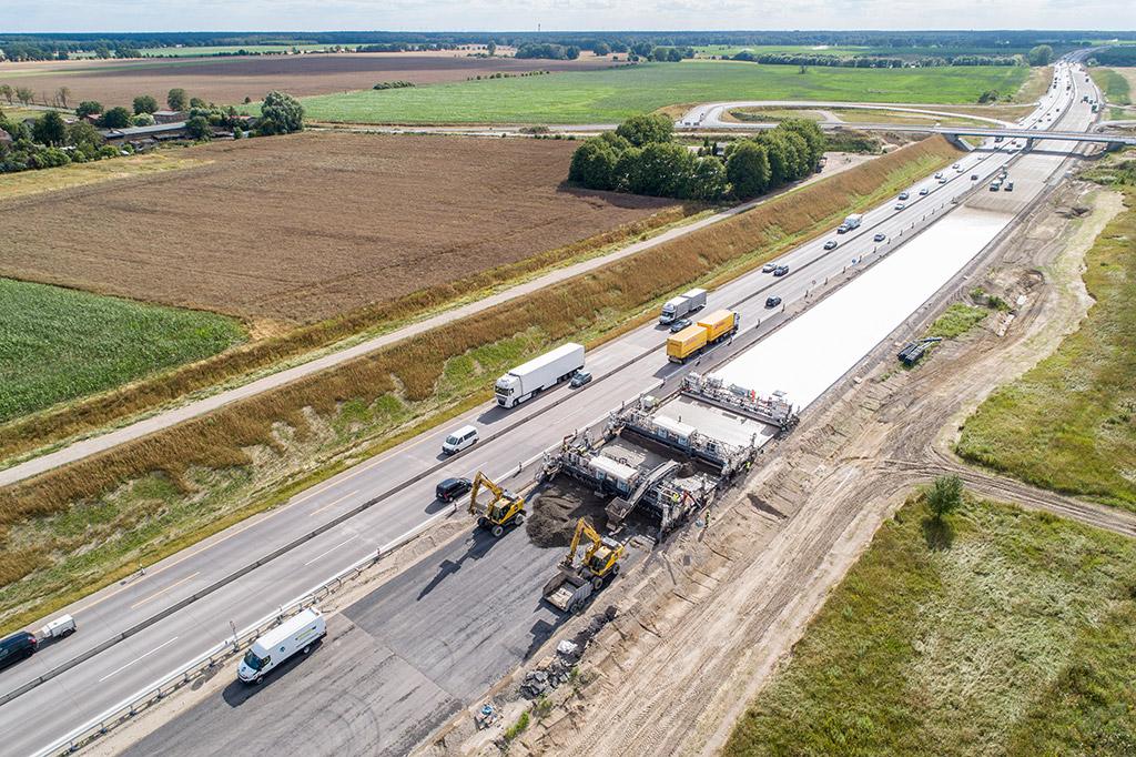 Bundesautobahnen A10 und A24 Überwachung und Qualitätssicherung des Straßenbeton sowie Betone für die Brückenbauwerke und Durchlässe