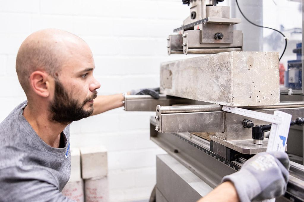Umfangreiche Tests und Begleitung vor Ort sichern die Qualität des Endprodukts.