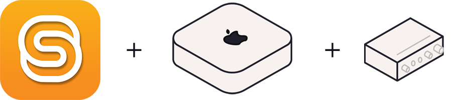 The Spatial Reality app icon and the suggested hardware.