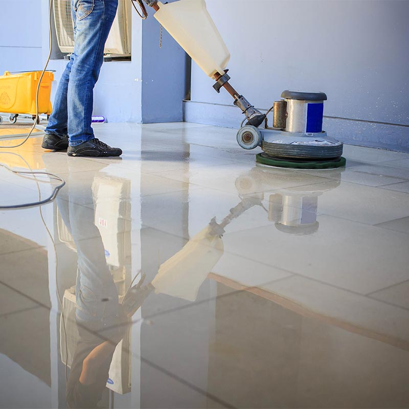 Professional tile cleaning