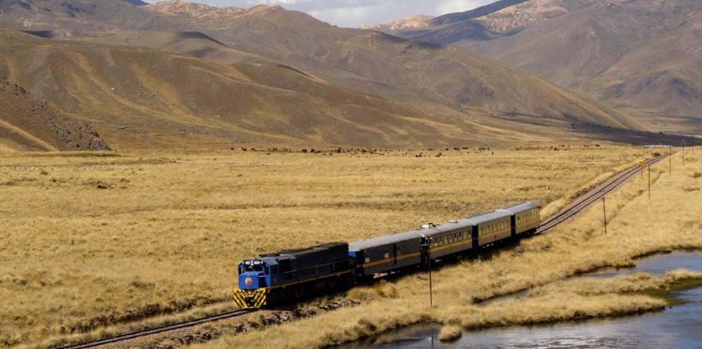 Lake Titicaca Train near Juliaca