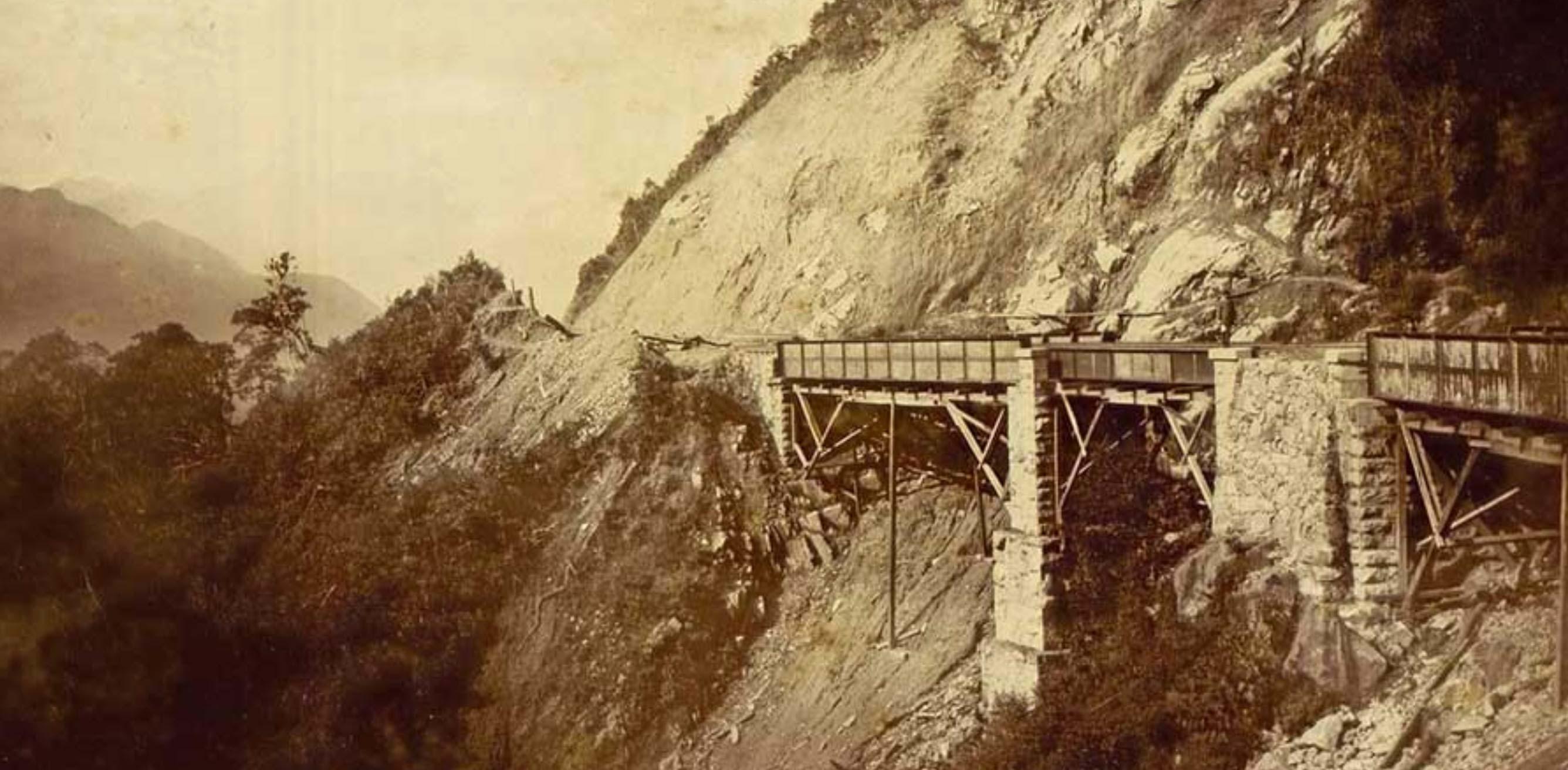 Curitiba-Moretes Railroad and the Carvalho Viaduct