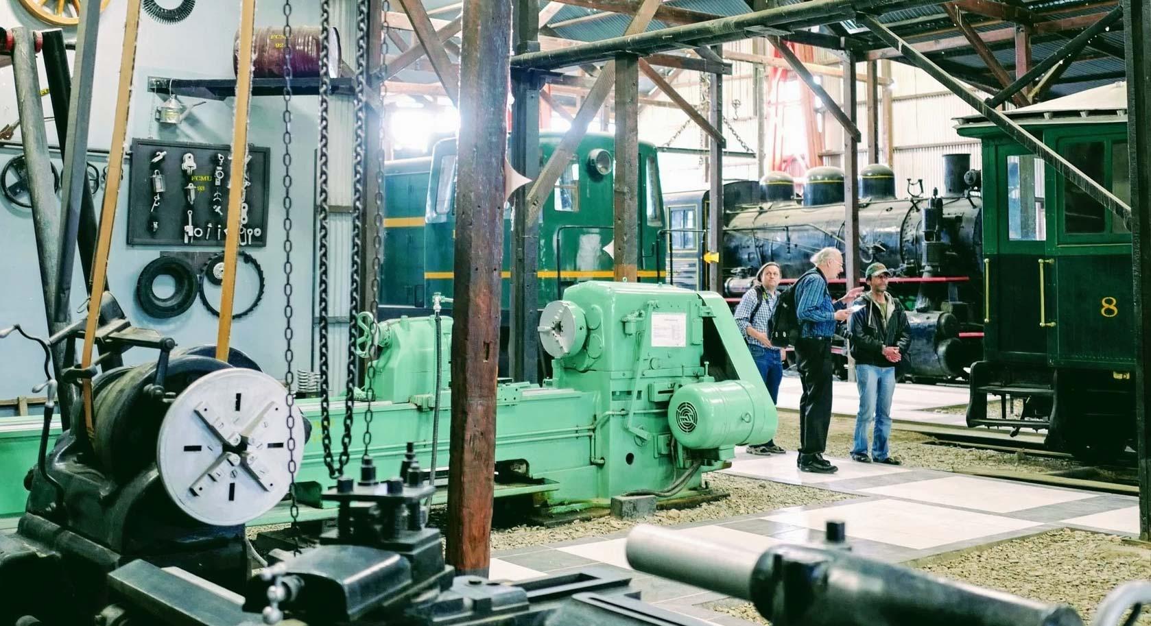Inside the Railway Museum Machacamarca