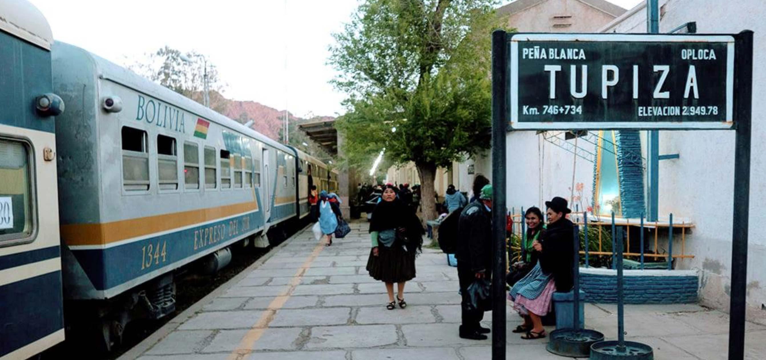 Tupiza Railway Station
