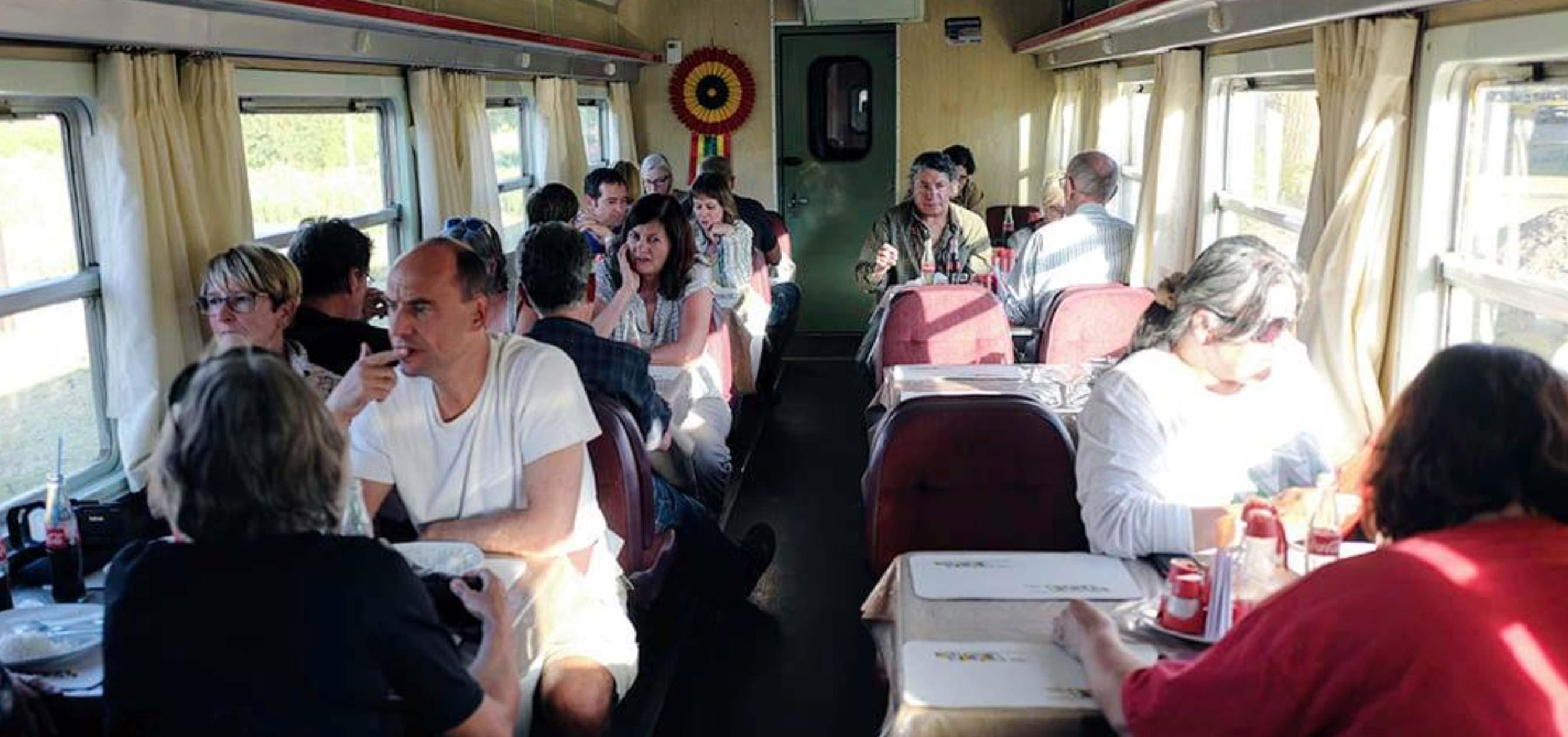 Dining Car Wara Wara Express
