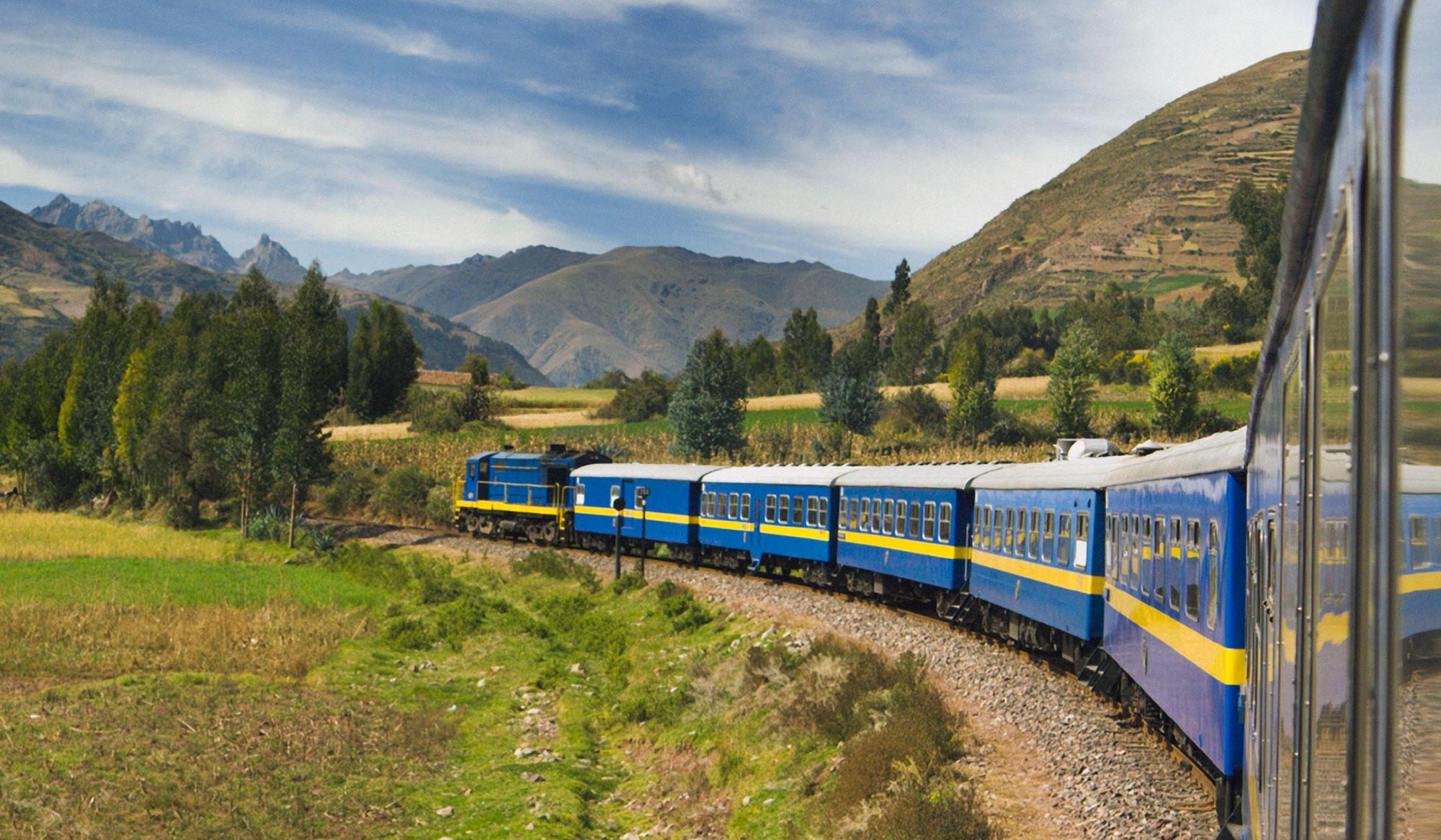 Sacred Vallvey Train to Ollantaytambo