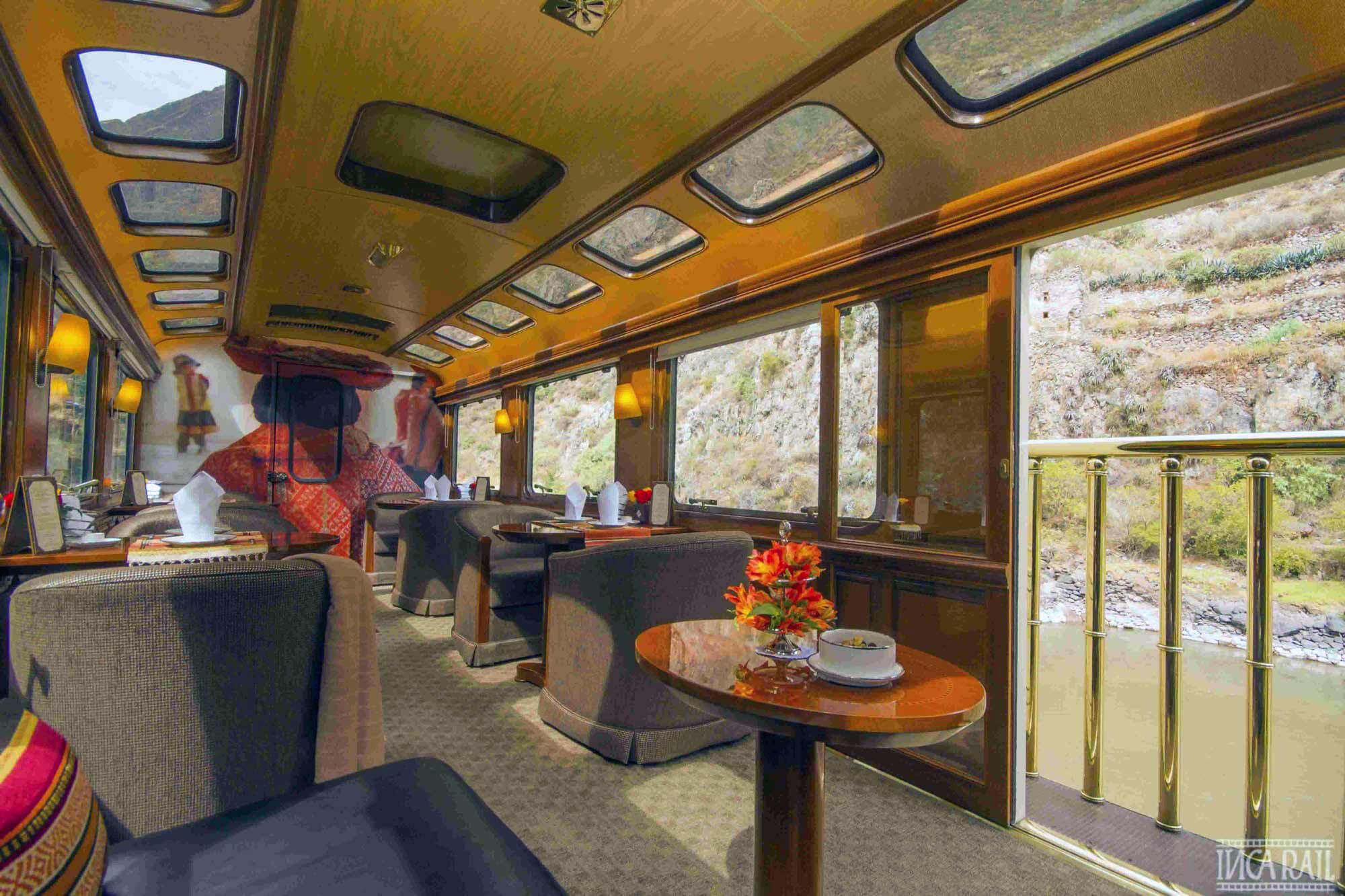 Incarail First Class Train Lounge Car