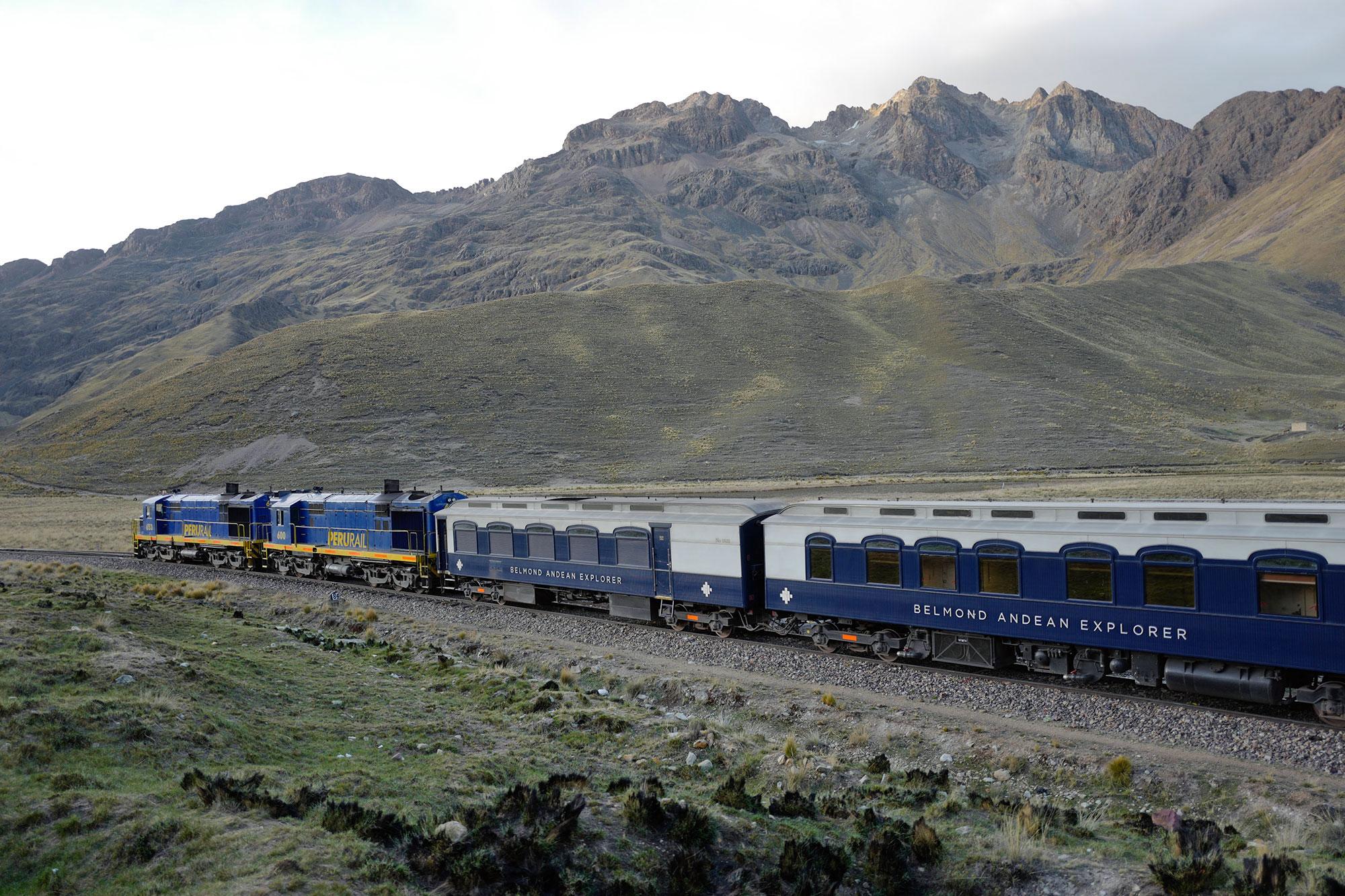 Andean Explorer Train in La Raya