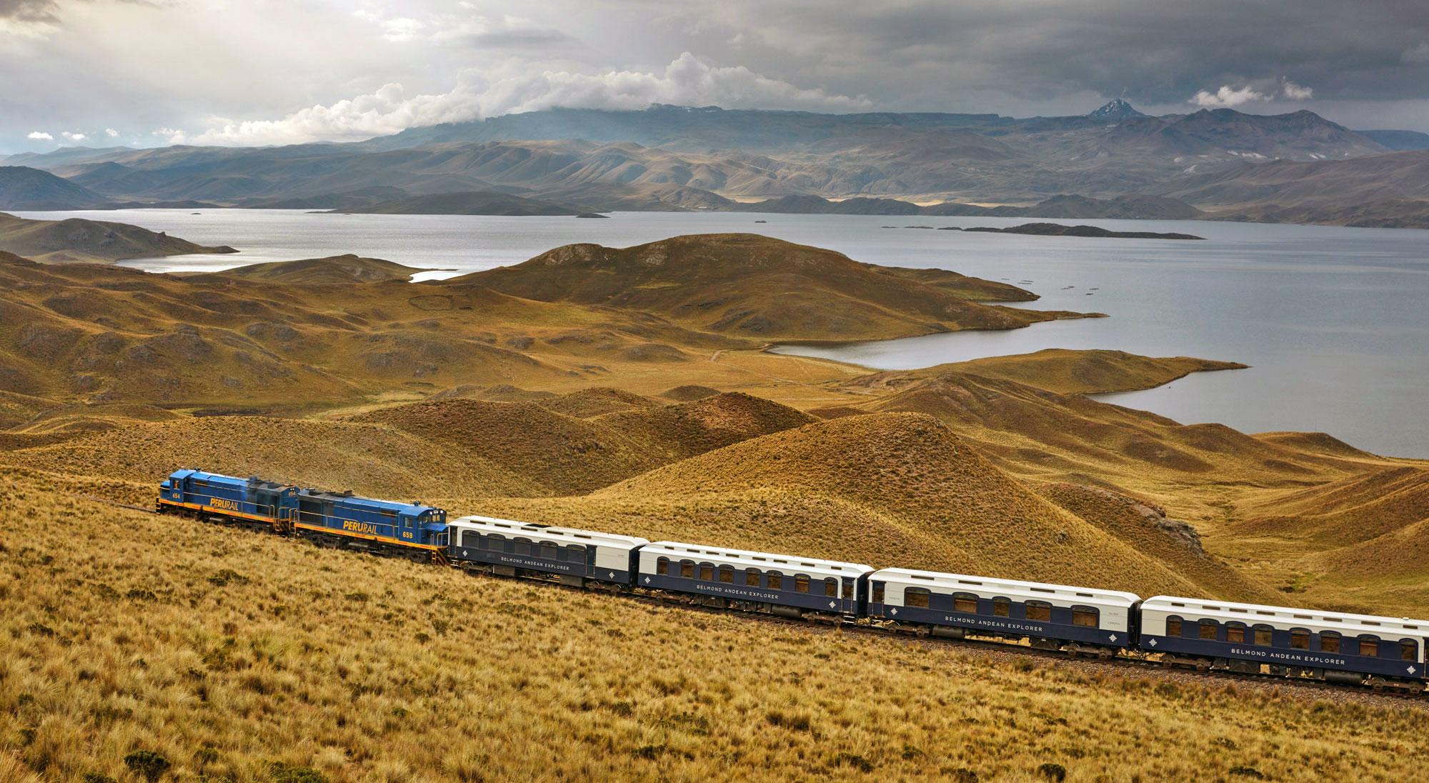 Andean Explorer Train between Arequipa and Juliaca