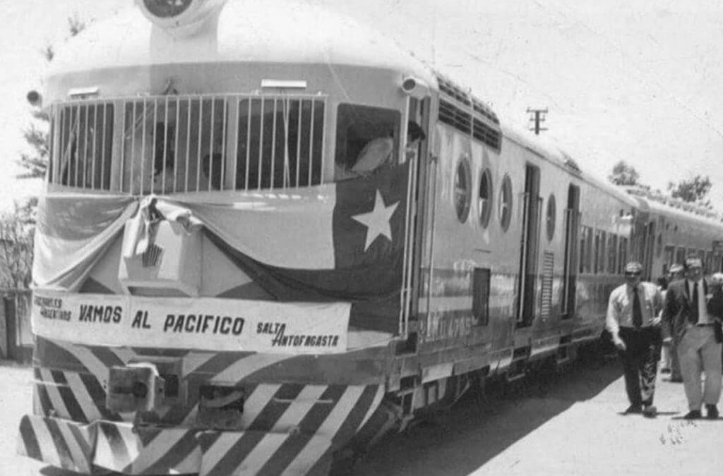 Passenger Train from Salta to Antofagasta