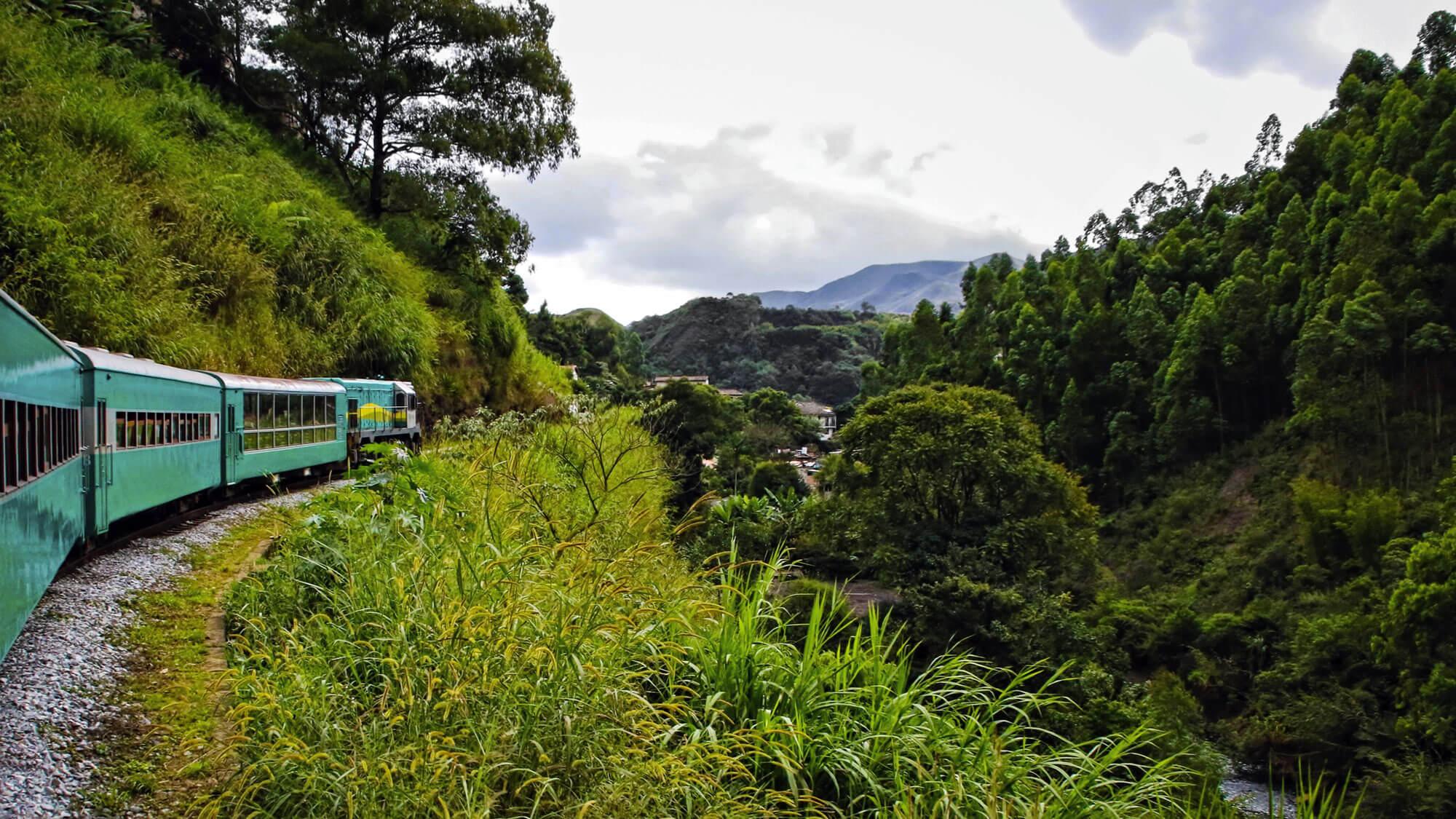 Train Ouro Preto to Mariana