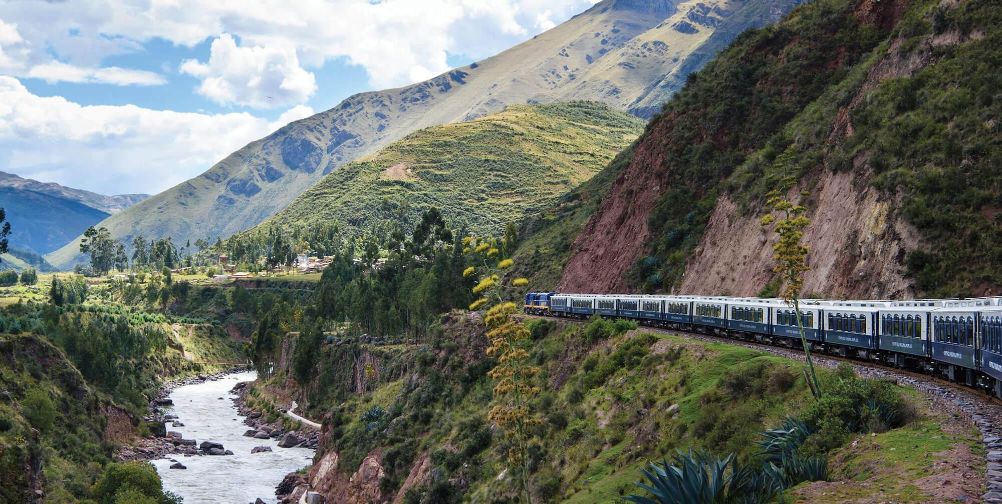 Andean Explorer Train near Cusco