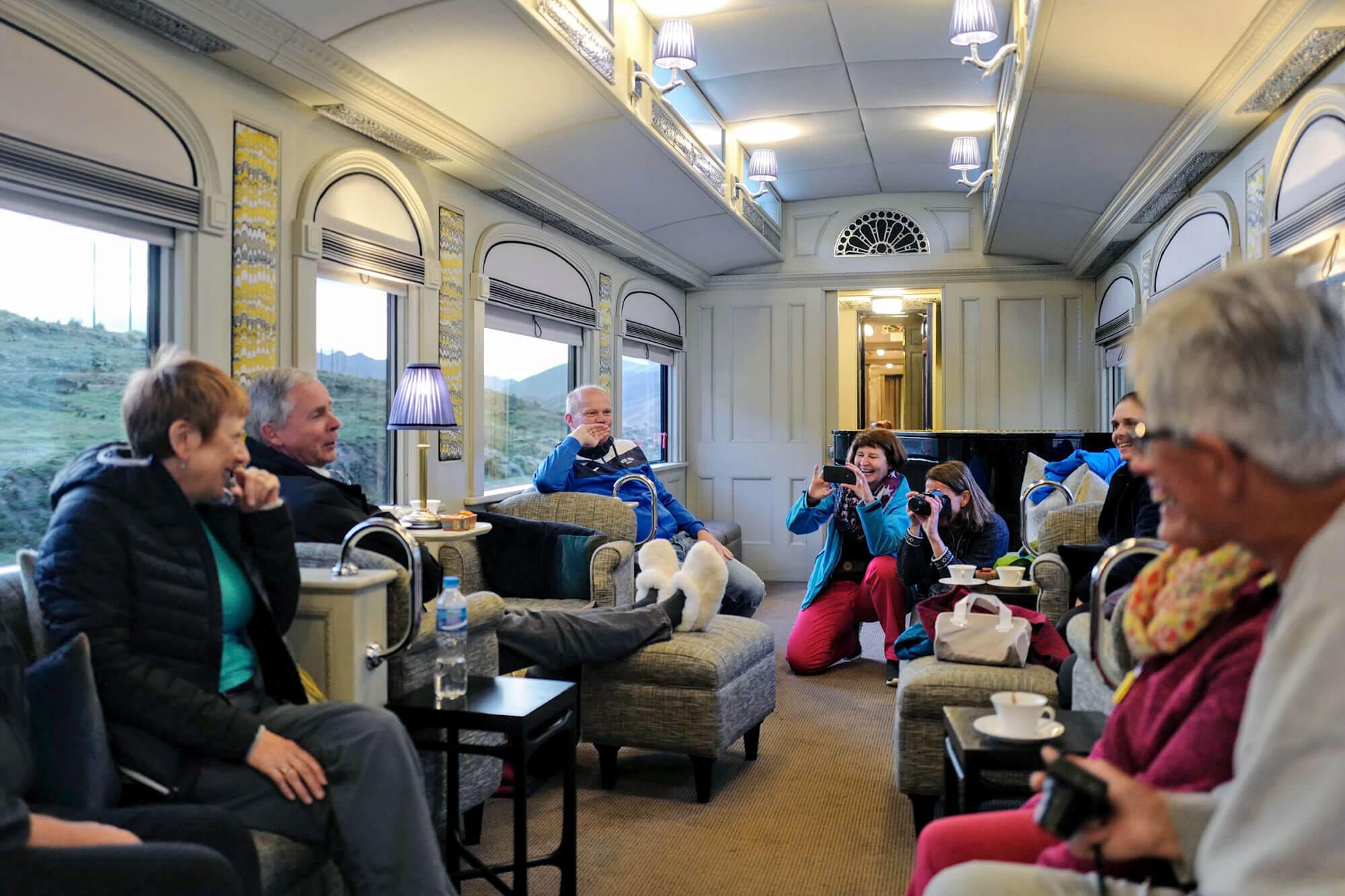 Piano Lounge Andean Explorer Train