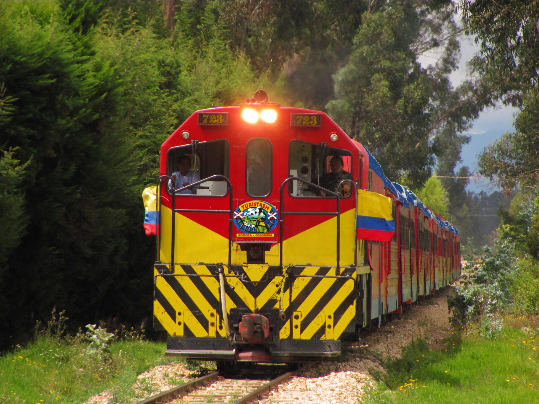 Tren de la Sabana outside Bogota