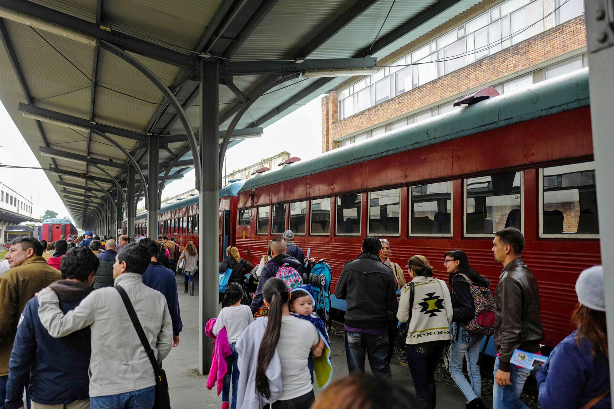 Sabana Railway Station Bogota