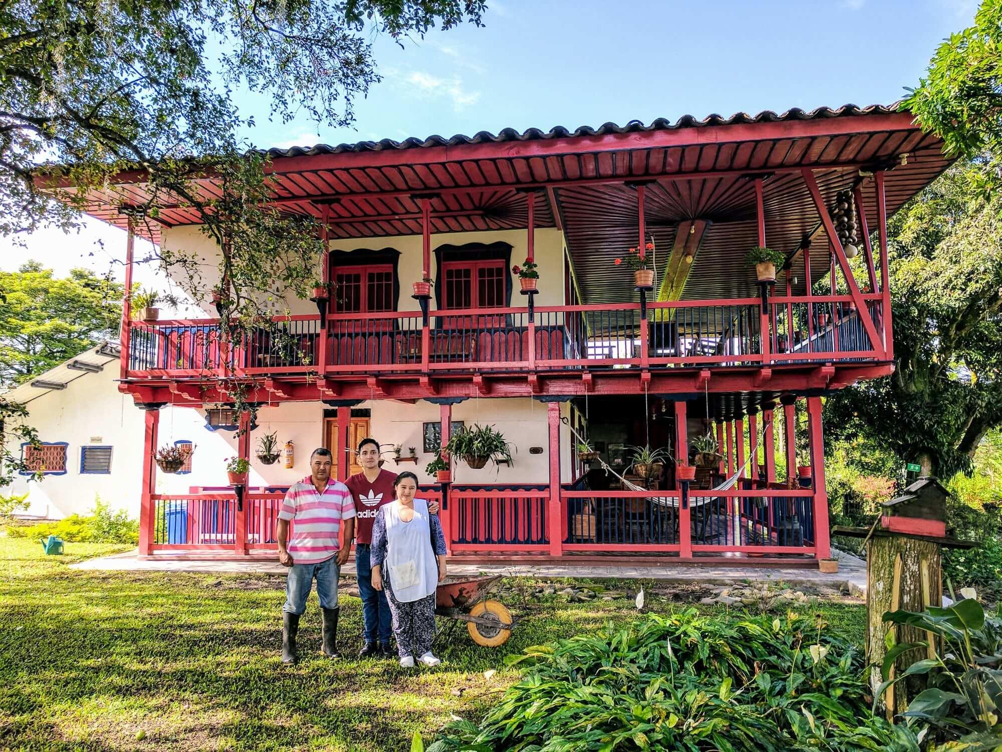 "Coffee Hacienda ""El Balso""near Armenia"