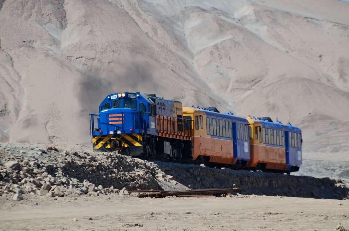 Arica Paconchile Railway