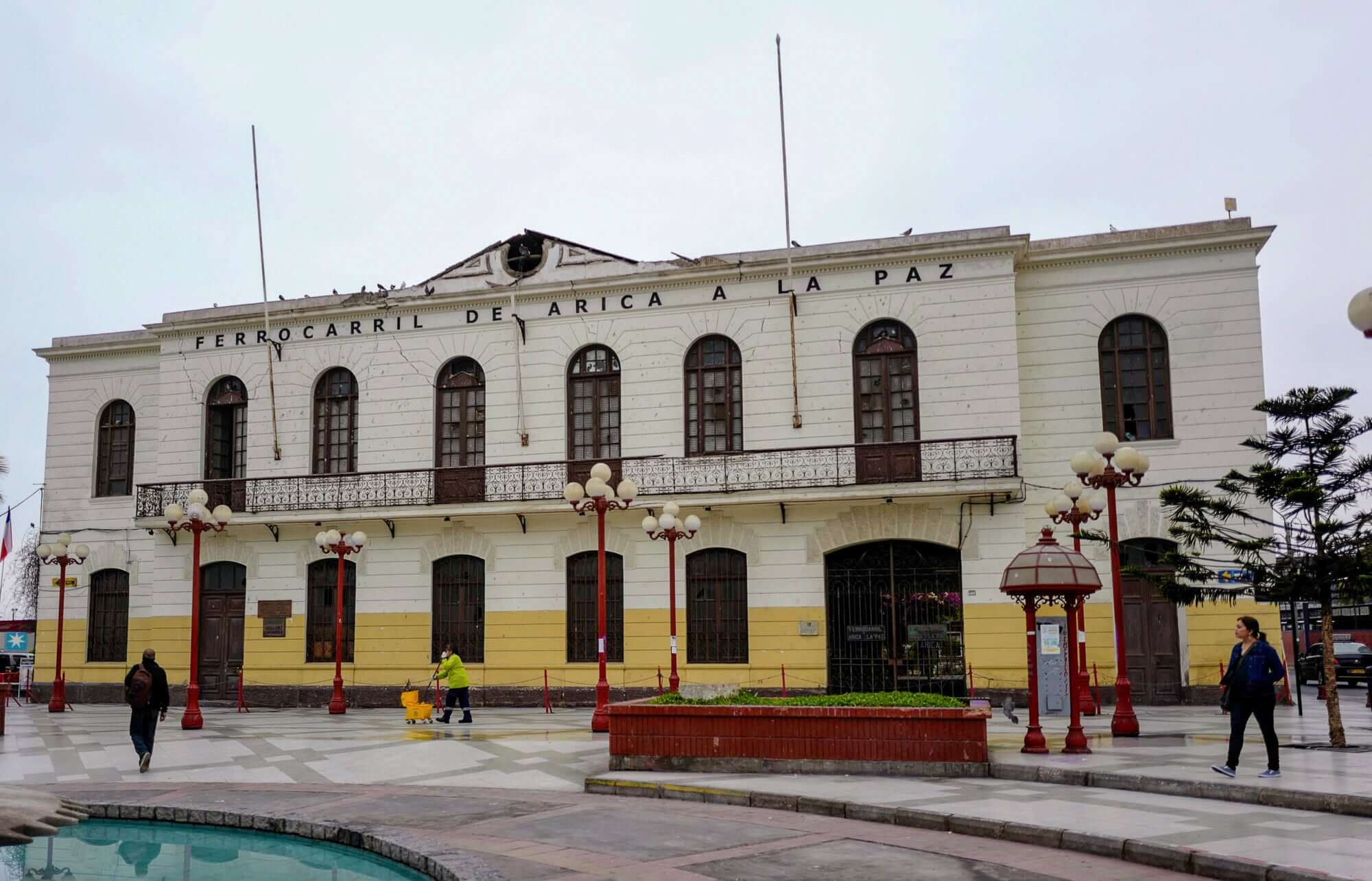 Old Arica Railway Station