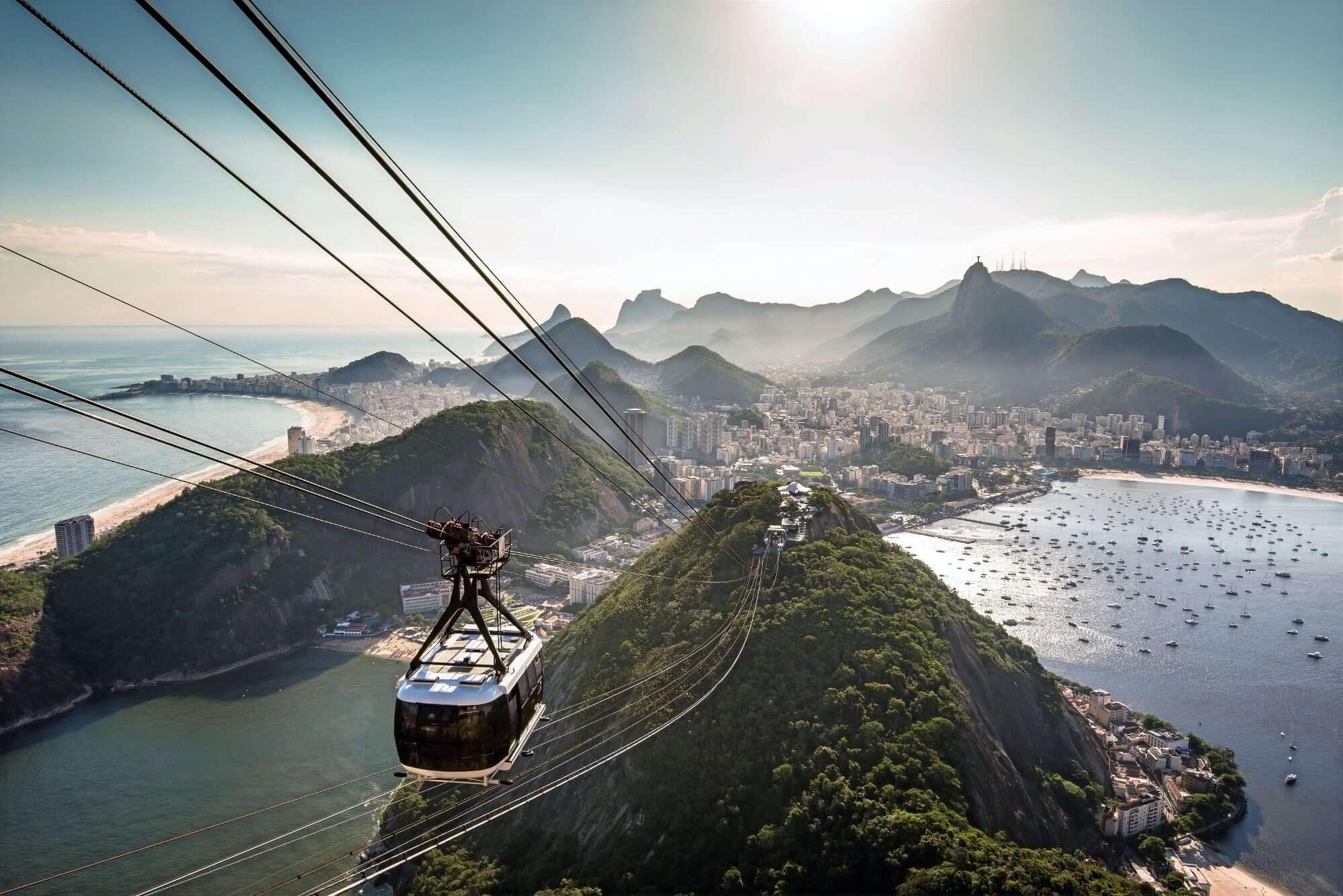 Cable Car to the Sugar Loaf Mountain - Rio de Janeiro, Brazil