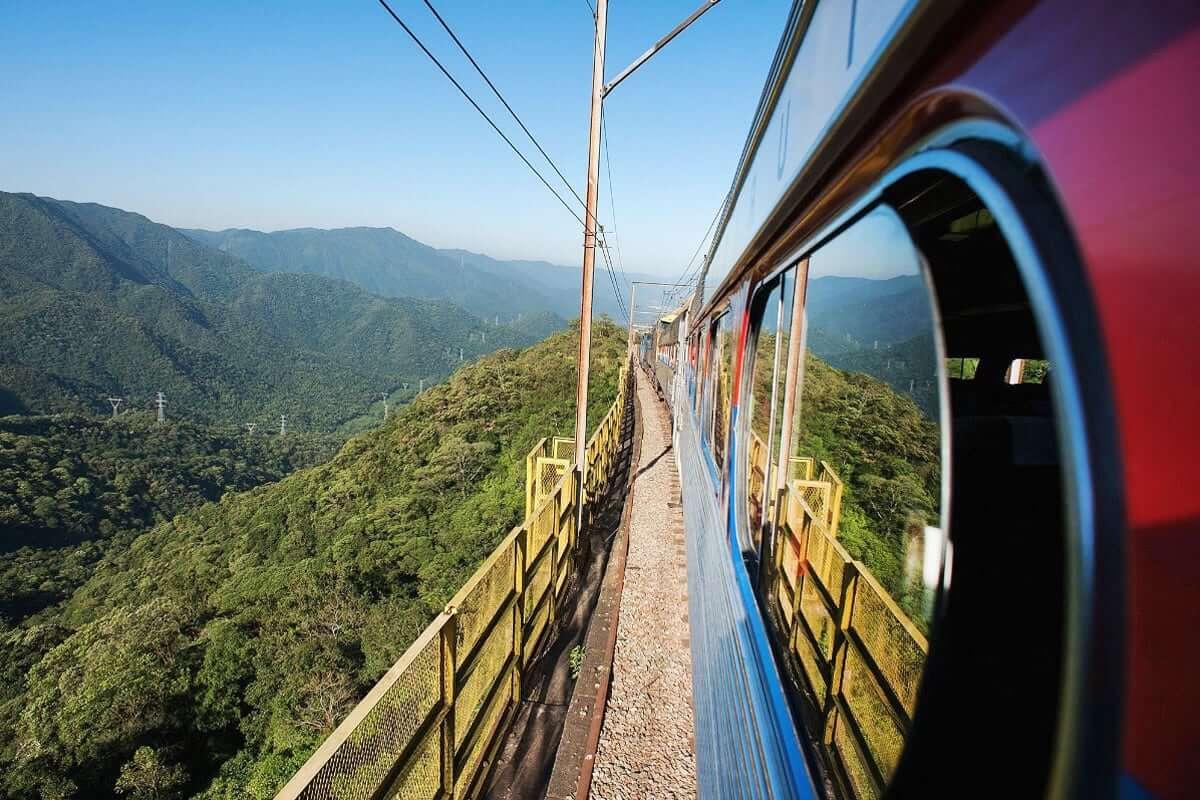 Train to Paranapiacaba from Sao Paulo