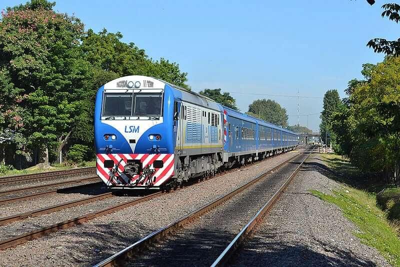 Train Buenos Aires - Tucuman, Argentina