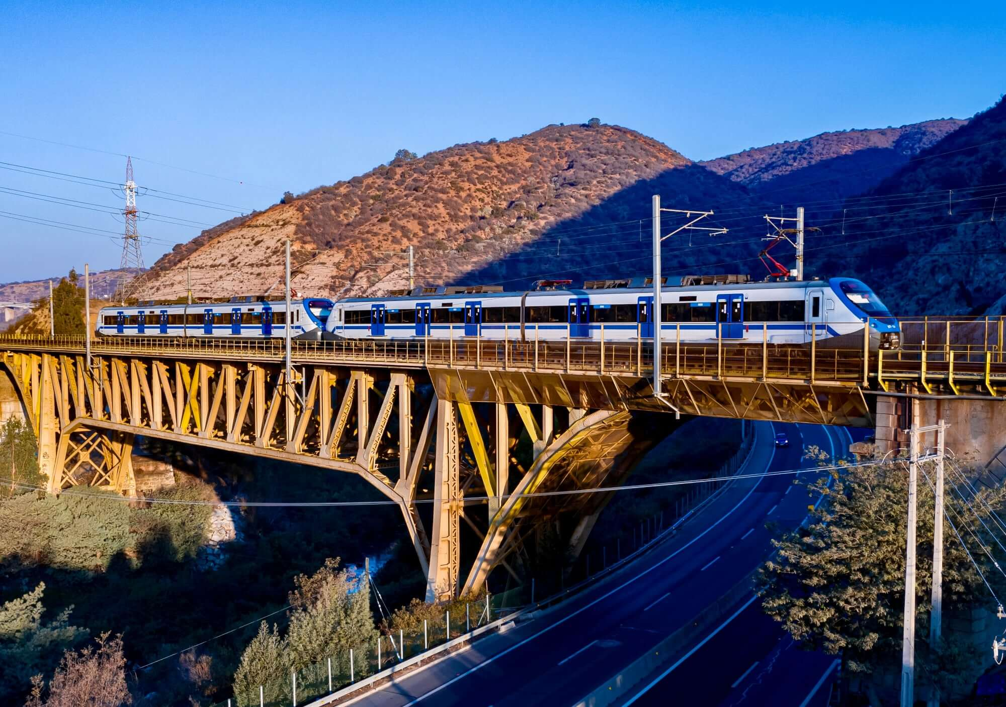 Passenger Train Chile