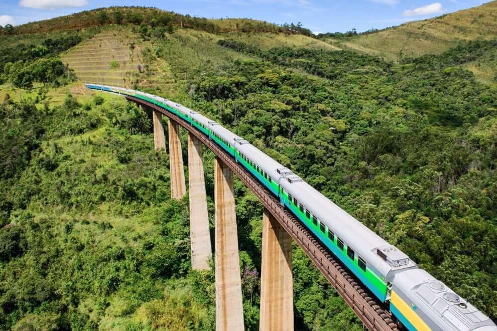 Belo Horizonte - Vitoria Train, Brazil
