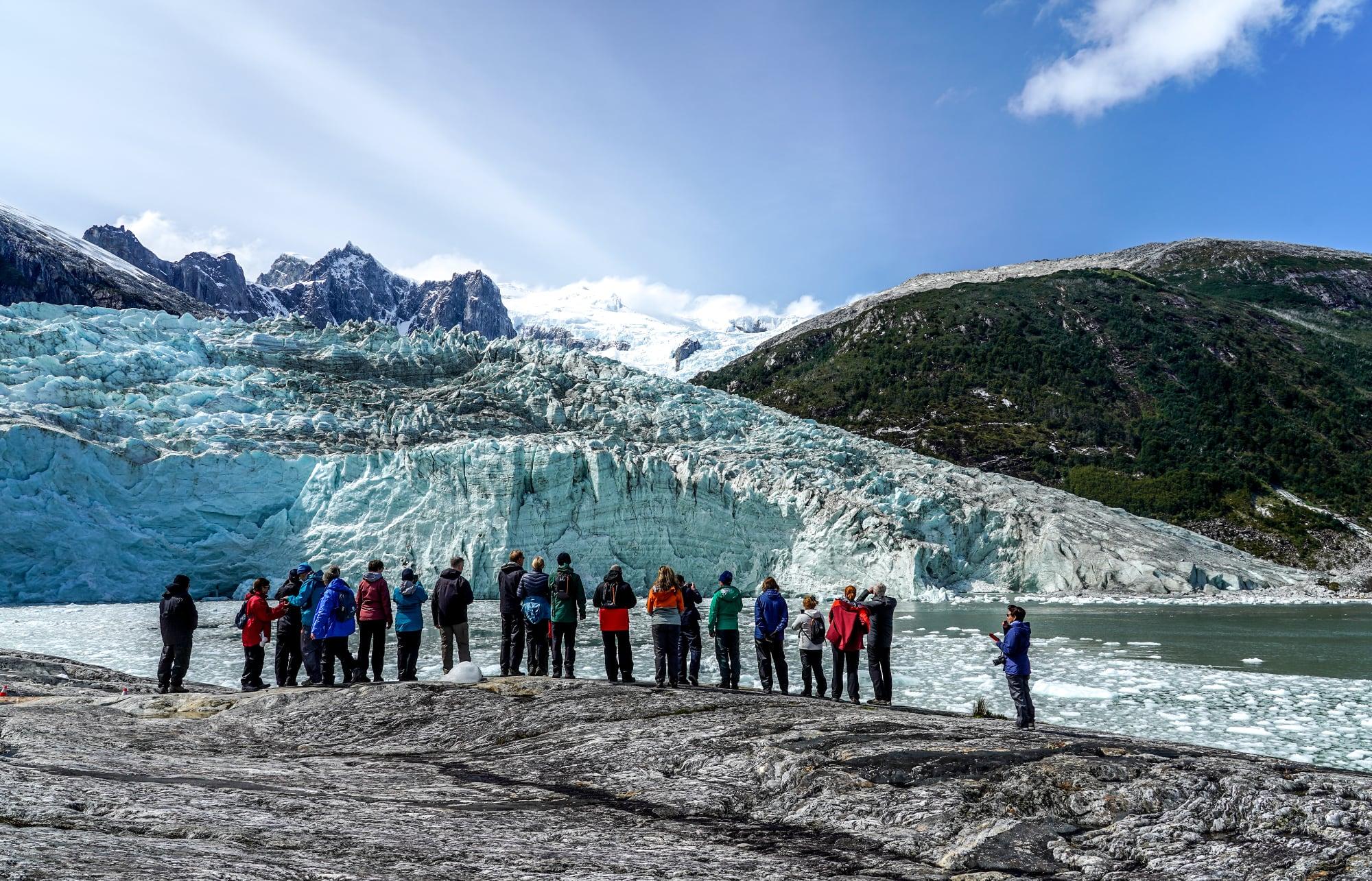 Pia Glacier, Alberto de Agostini National Park, Patagonia, Chile