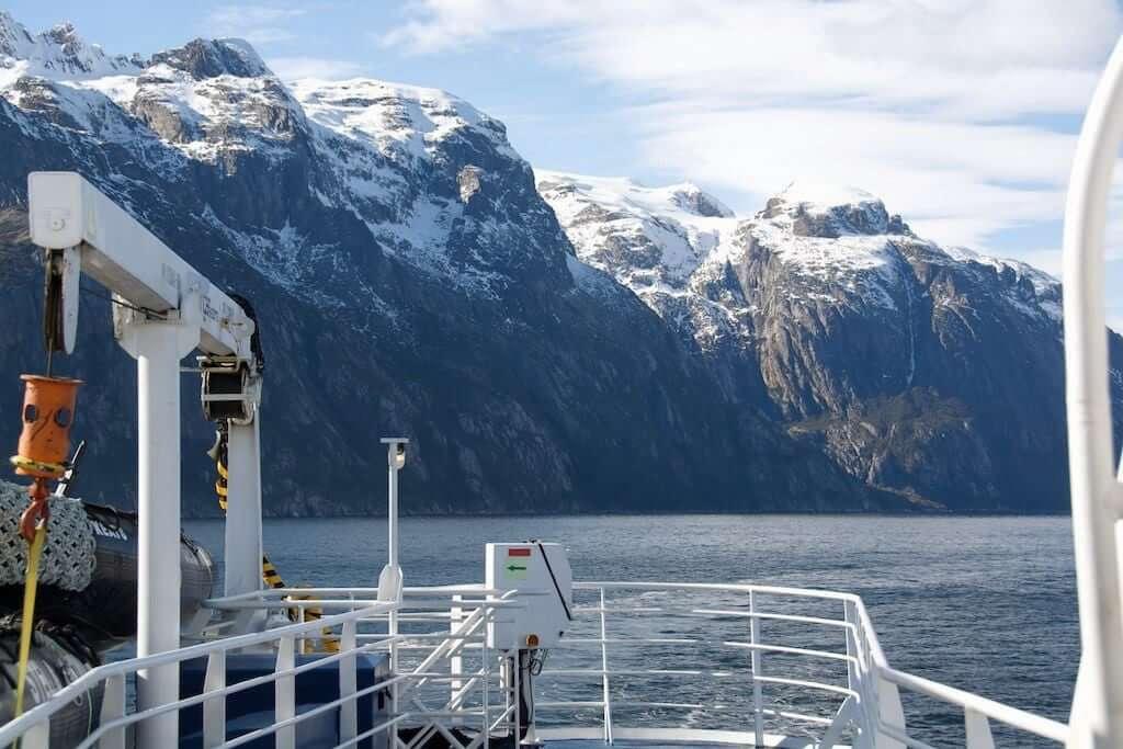 Almirantazgo Fjord, Chile