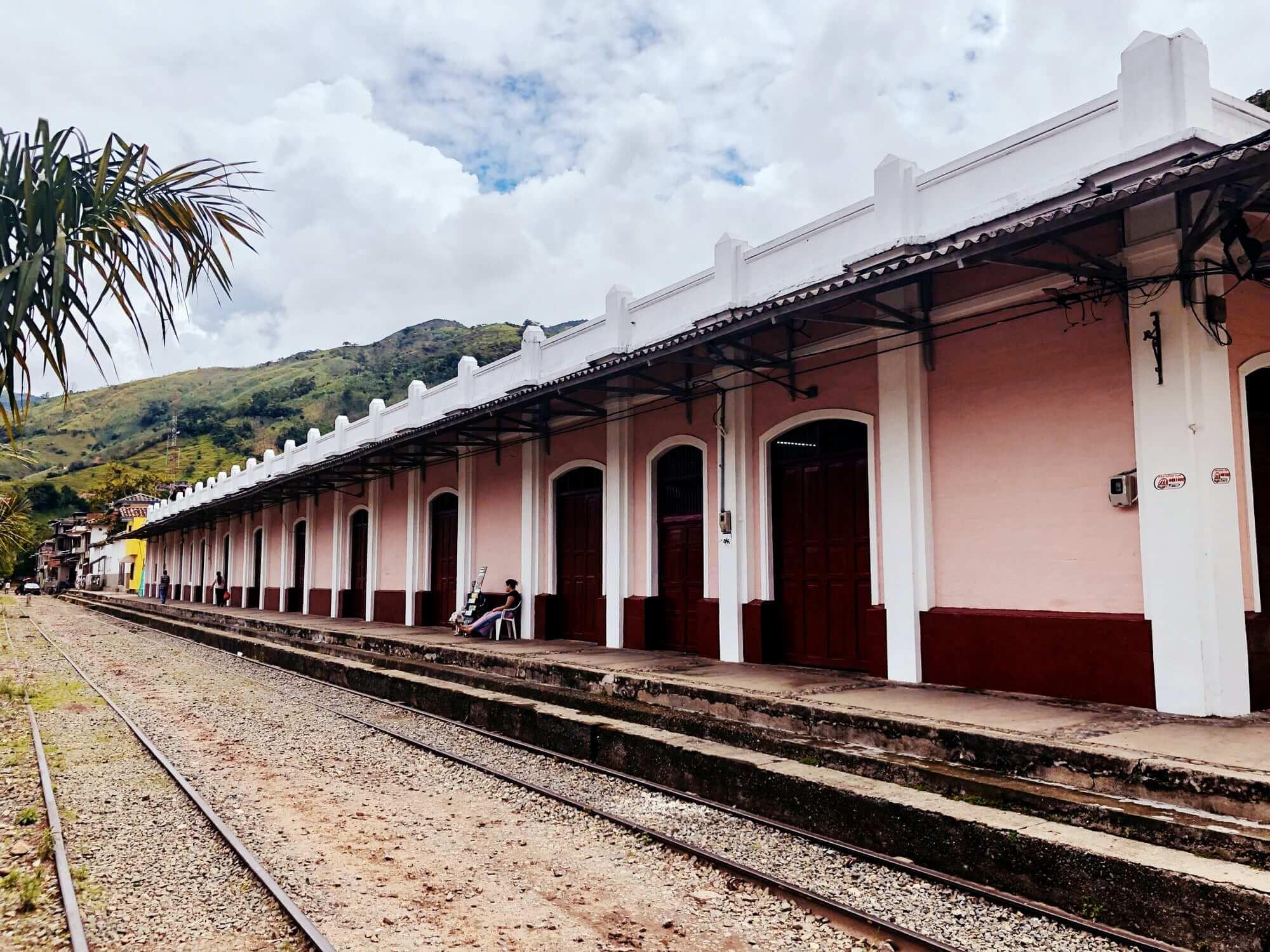 Cisneros Railway Station, Antioquia Railway, Colombia