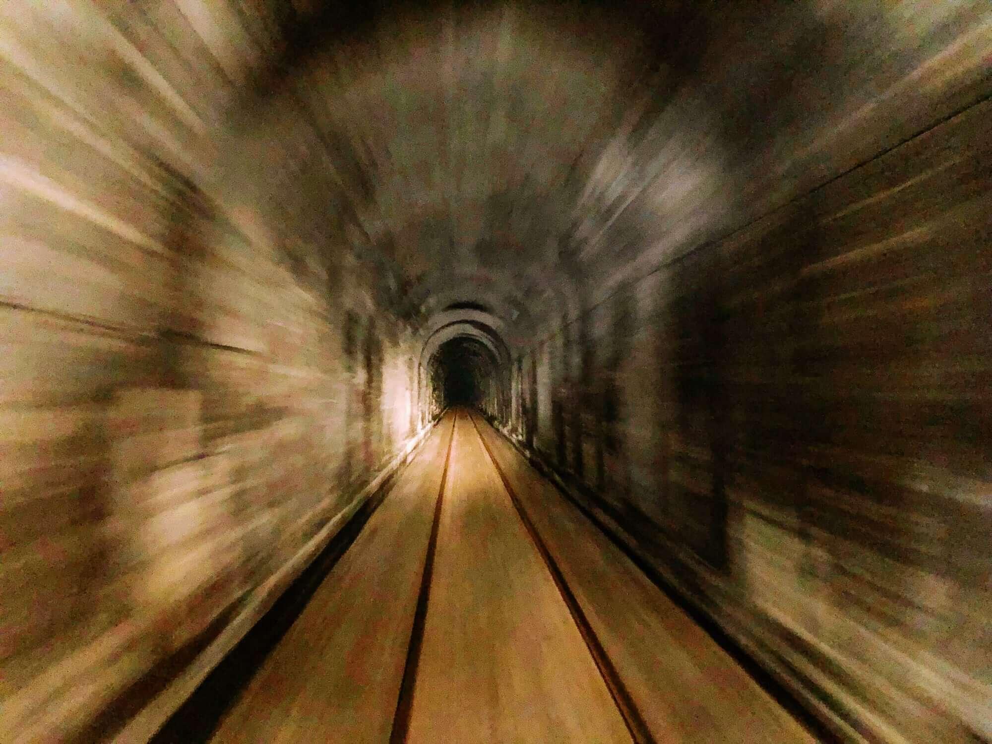 Tunel de la Quiebra between Santiago and Limon, Antioquia Railway, Colombia
