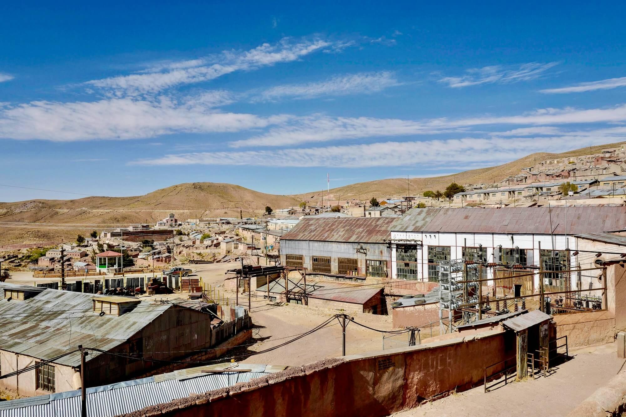 Pulacayo Mining Site bear Uyuni, Bolivia