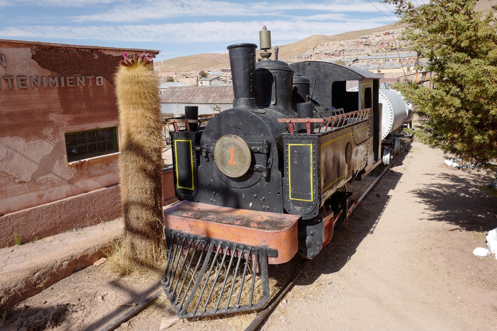 Oldest Steam Locomotive is found in Pulacayo, Bolivia
