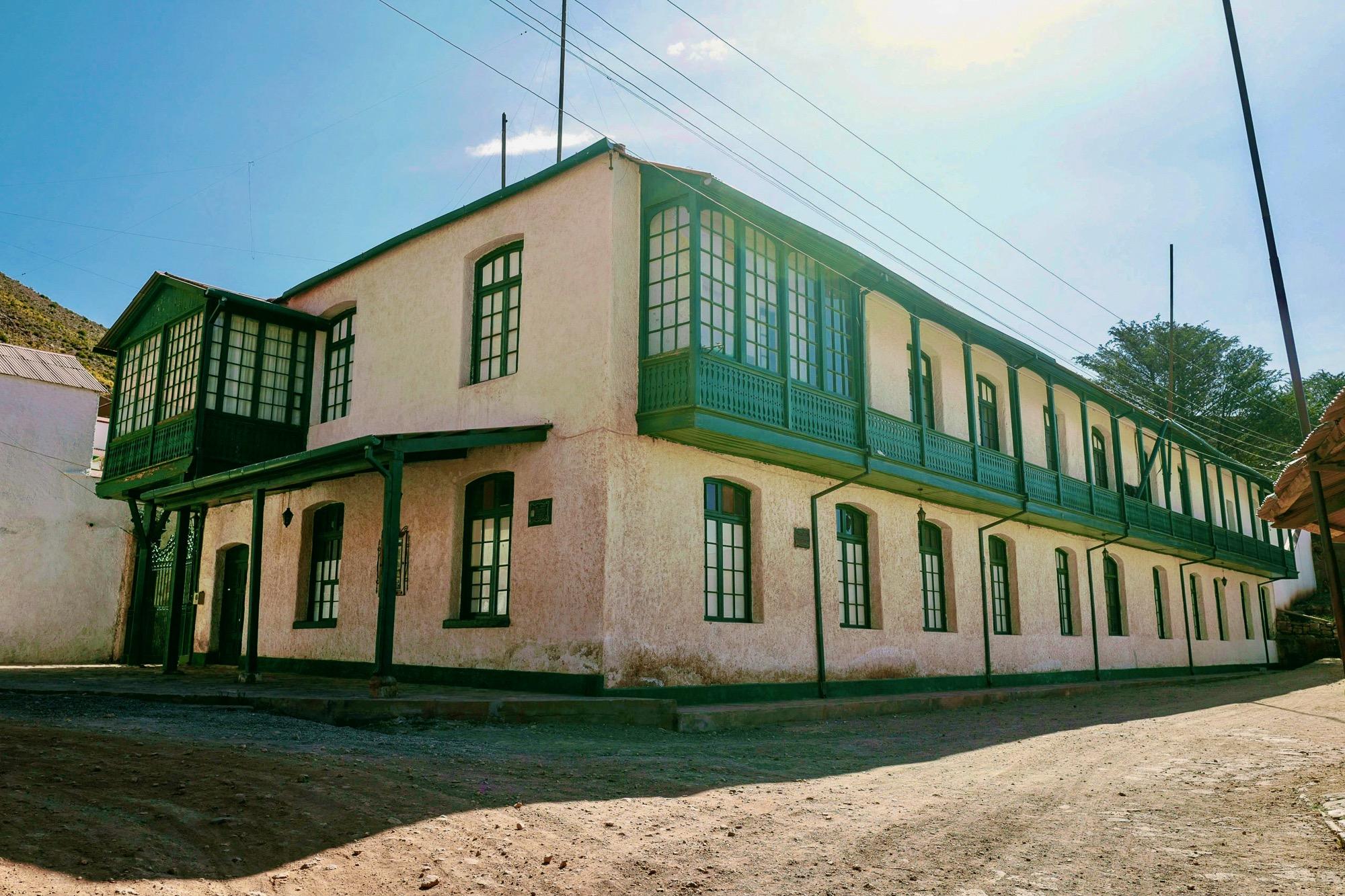Casa Arce the Mine Administrator House in Pulacayo, Bolivia