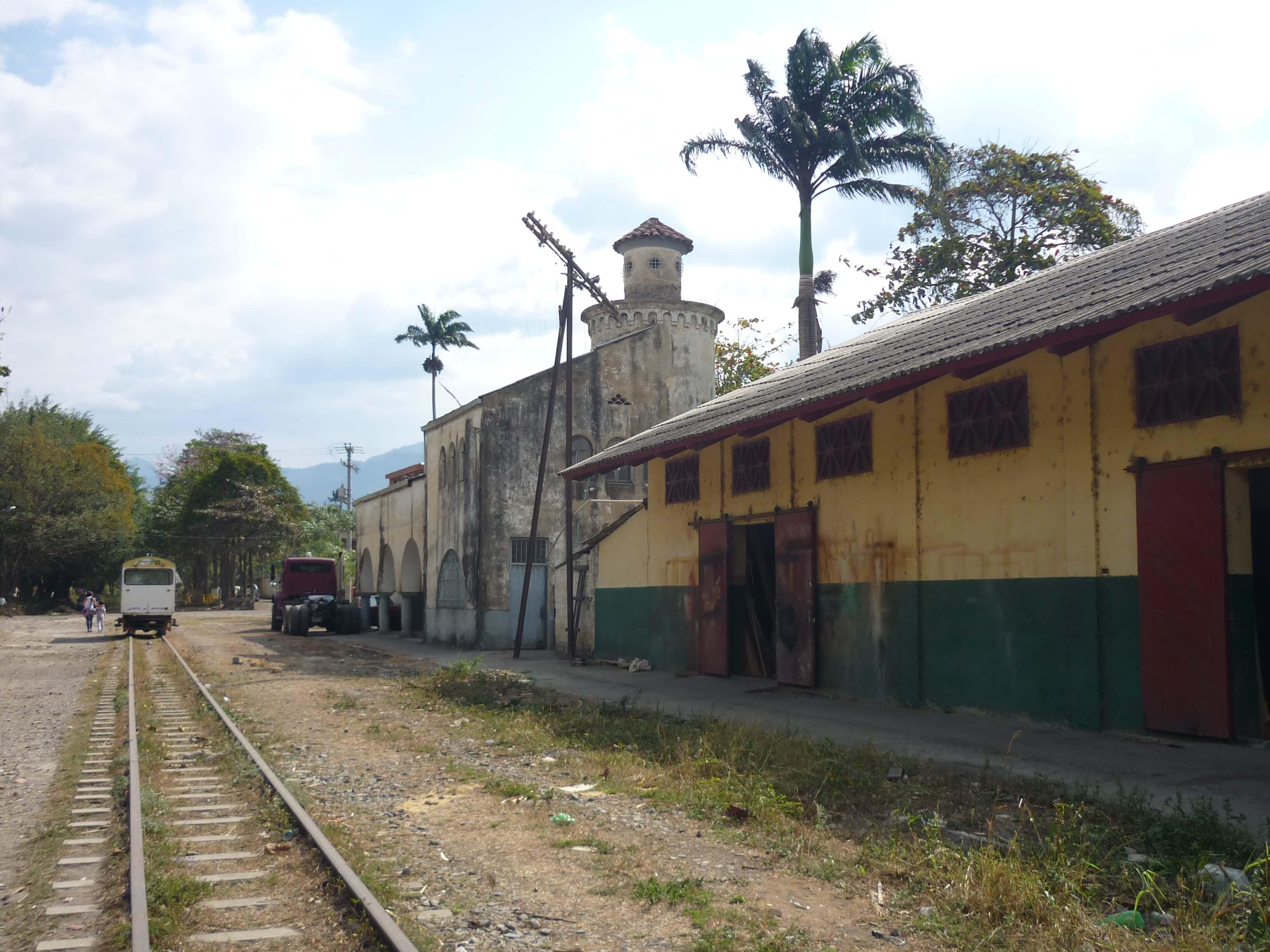 Villeta Railway Station, Cundimarca, Colombia