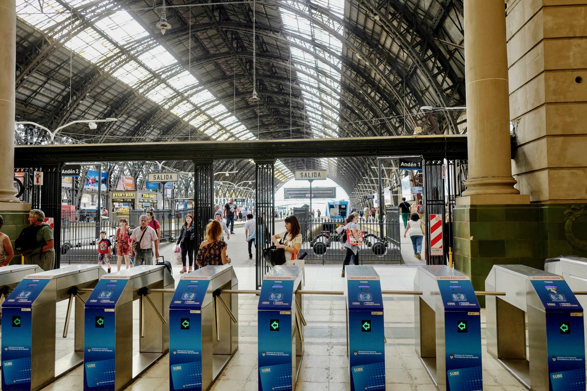 Mitre Railway Station, Buenos Aires, Argentina