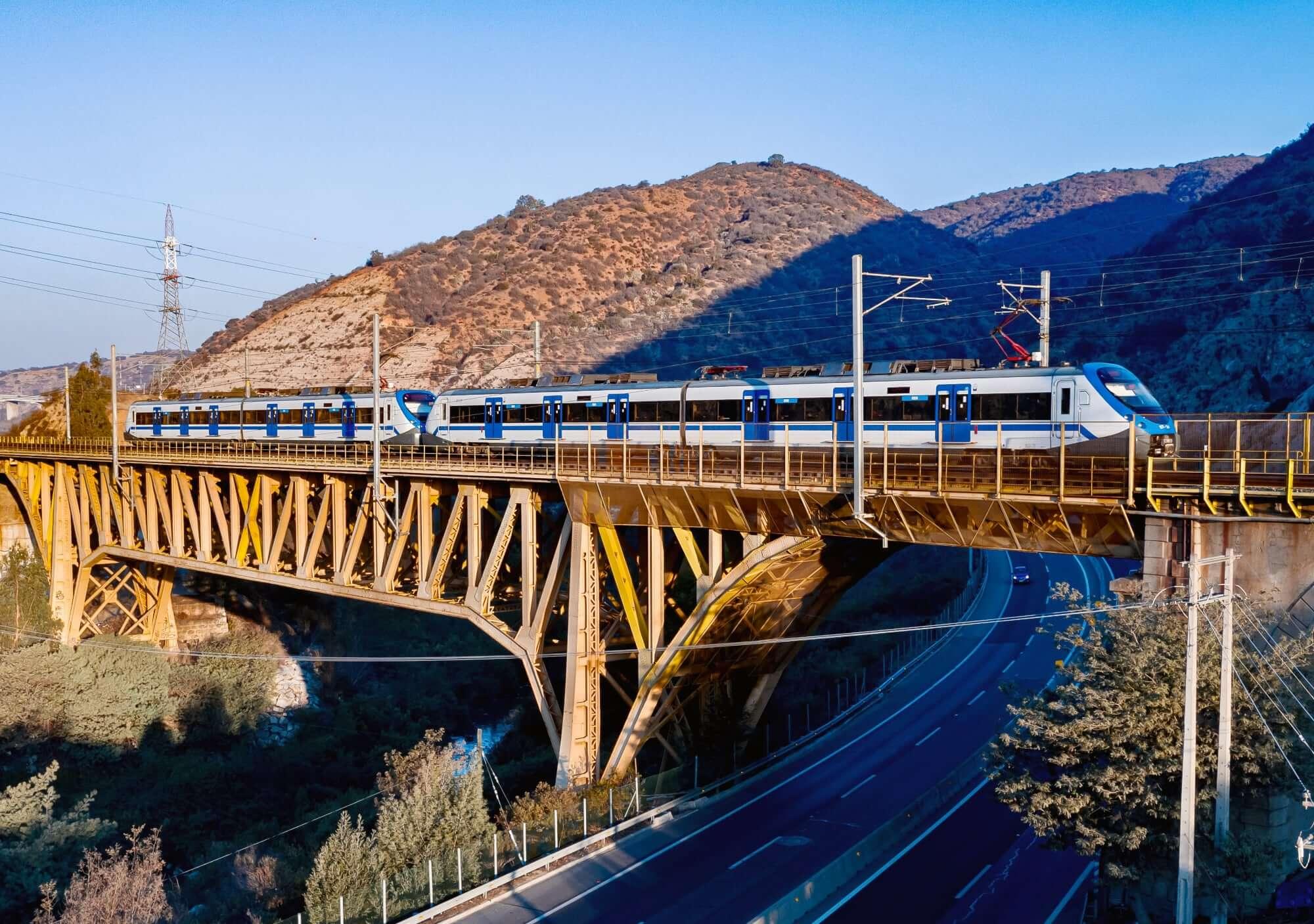 Train Limache - Valparaiso