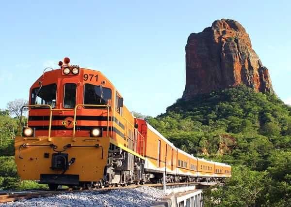 Train in Roboré Bolivia