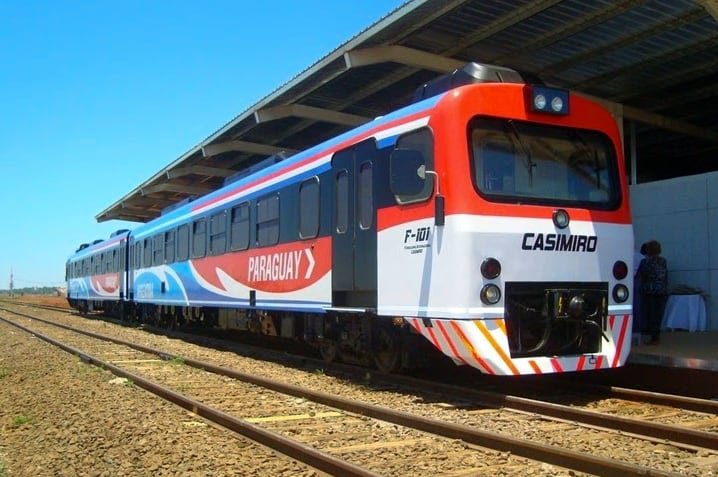 International Train Posadas - Encarnacion