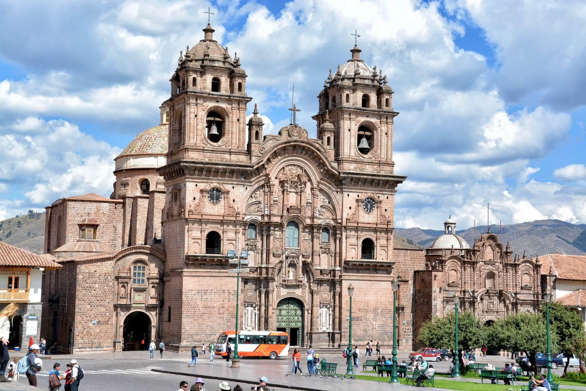 San Sebastian Church, Plaza de Armas, Cusco, Peru