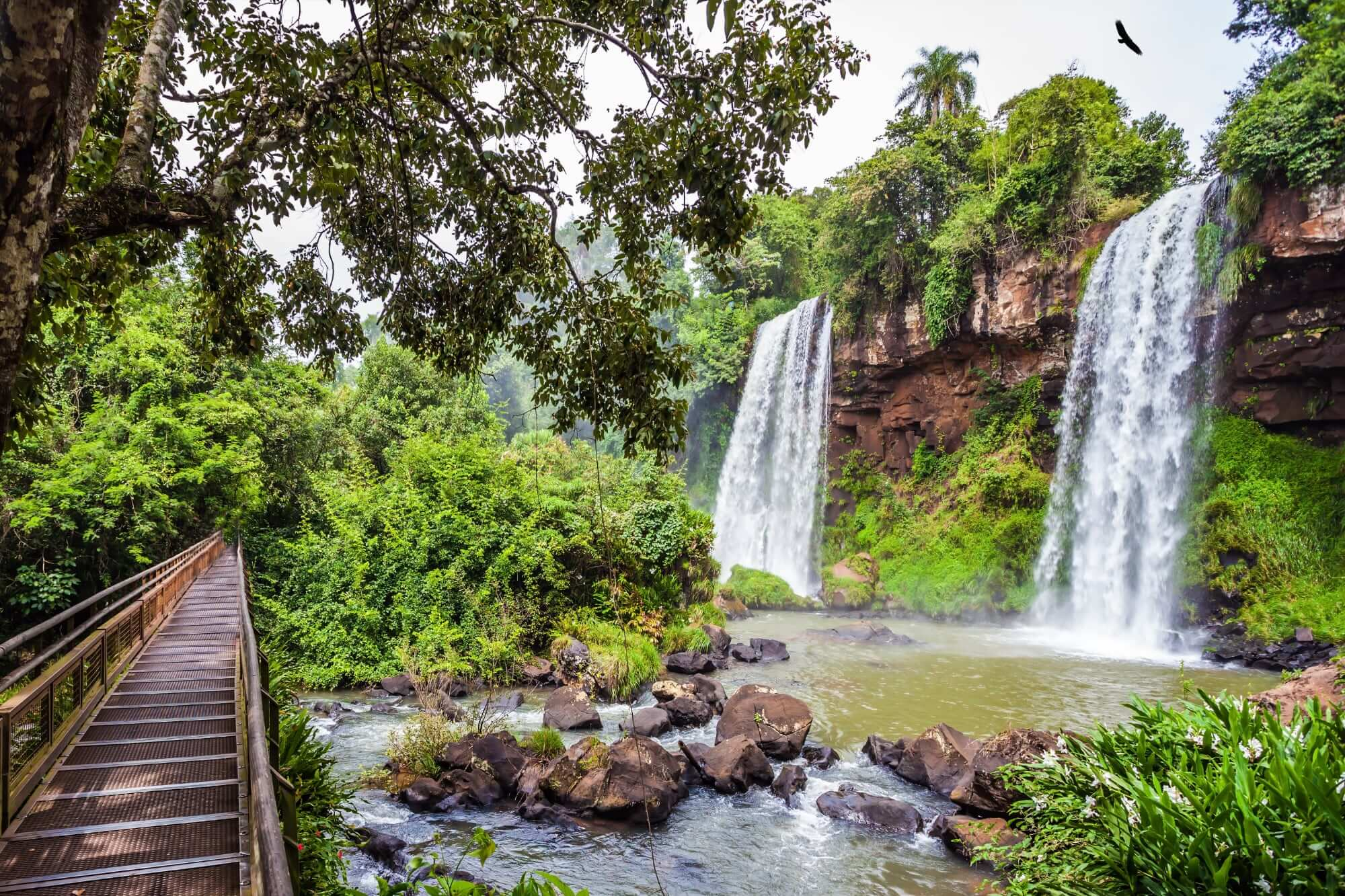 Iguazu Falls, walking the Lower Circuit in Argentina