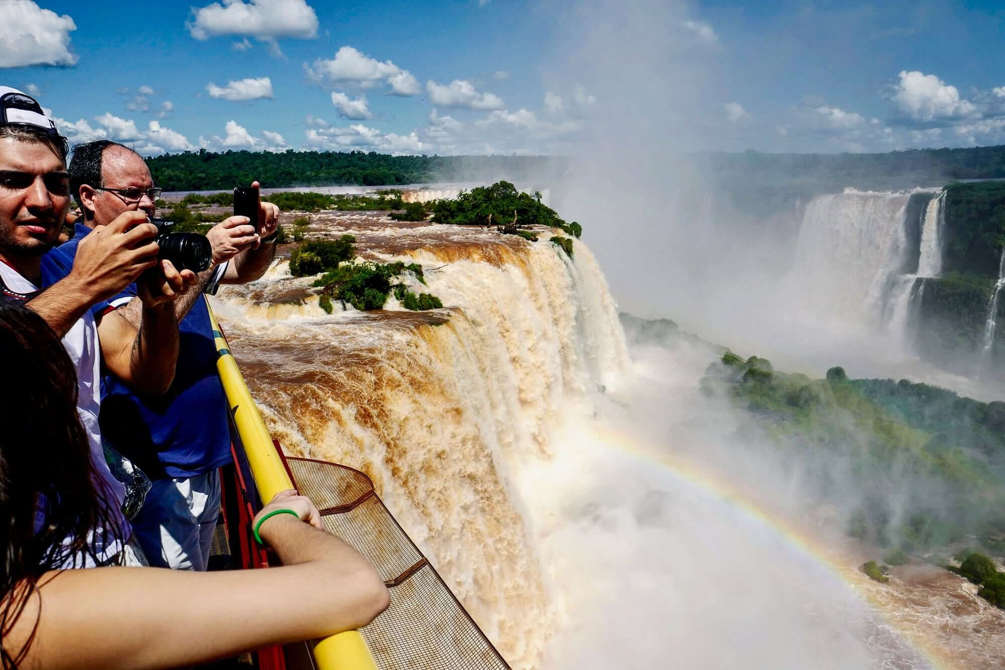 View from the Brazilian Side of the Iguazu Falls