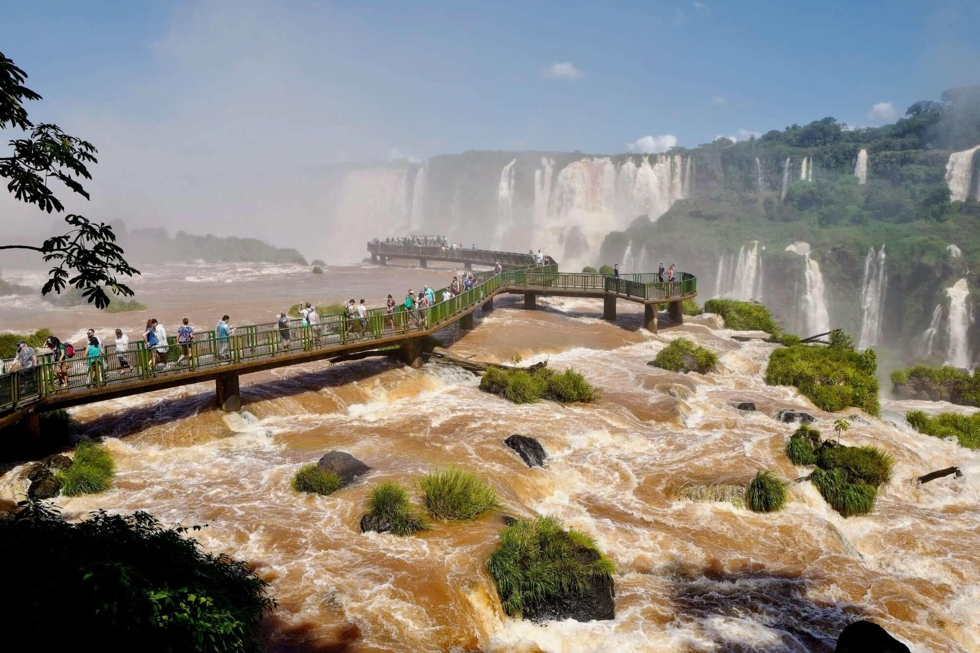 Iguazu Falls from nearby